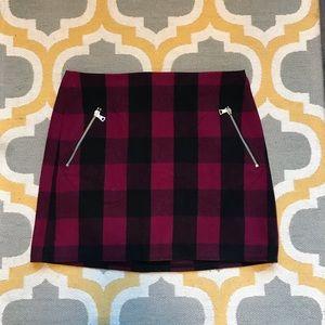 Gap Buffalo Plaid Mini Skirt